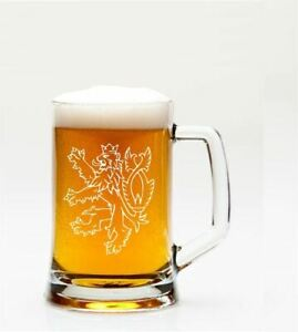 ENGLISH-LION-MOTIF-1PT-GLASS-TANKARD