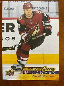 17-18-UD-Series-2-Hockey-Young-Guns-Canvas-C219-Nick-Merkley