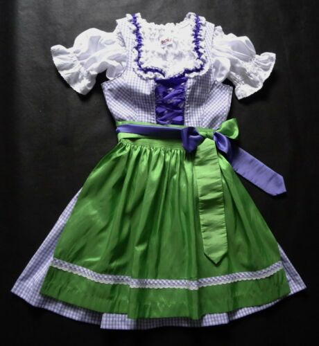 Ladies or Teens XS Authentic German Dirndl Dress +