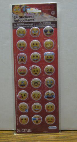 Vinyl Emoji 3D Raised Stickers #50580 Unique Industries Smiley Emojis 2016