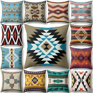 Am-Retro-Geometric-Throw-Pillow-Case-Cushion-Cover-Sofa-Bed-Home-Decor-Gift-Rel