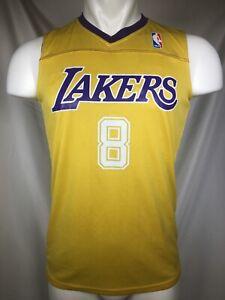 Kobe Bryant #8 Los Angeles Lakers Reversible Practice Jersey ...