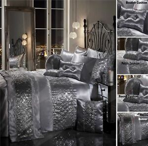 Sparkle Sequin Luxury Diamante Duvet Quilt Cover Bedding