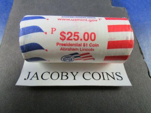 2010 P ABRAHAM LINCOLN HEAD//TAIL PRESIDENTIAL DOLLAR ROLL