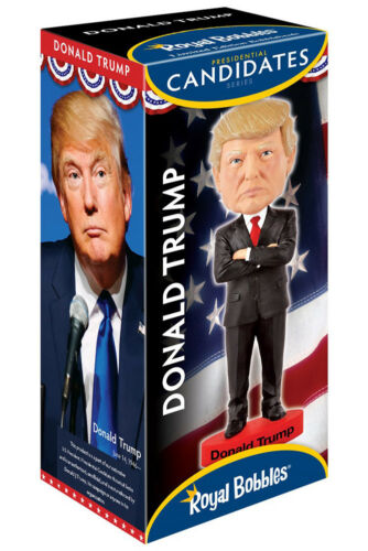 Donald Trump 2016 USA President Headknocker Figure ROYAL BOBBLES