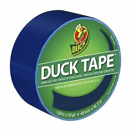 1.88 Inches x 20 Yards Blue Duck Brand 1304959 Color Duct Tape Single Roll