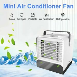Details about Portable Mini Air Conditioner Water Cool Cooling Fan Artic  LED Cooler Humidifier