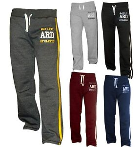 Men-039-s-Joggers-Cotton-Fleece-Jogging-Trousers-Pants-Track-Suit-Bottom-MMA-Boxing