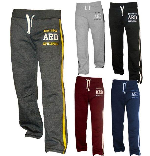 112e8bafb7 Men's Joggers Cotton Fleece Jogging Trousers Pants Track Suit Bottom MMA  Boxing