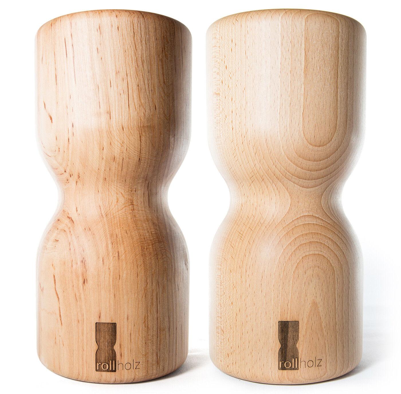 Faszienrolle / Massage-rolle Massage-rolle / Aus Holz Mehrfarbig von Rollholz a095bb