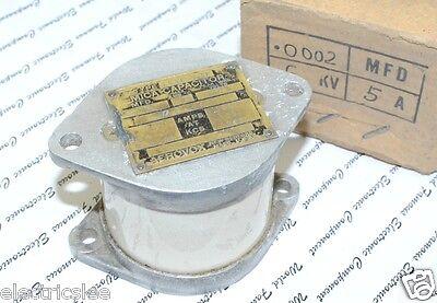1pcs 6000V 5A Transmitting Mica Capacitor 0.0002uF 0.0002MFD AEROVOX 200P