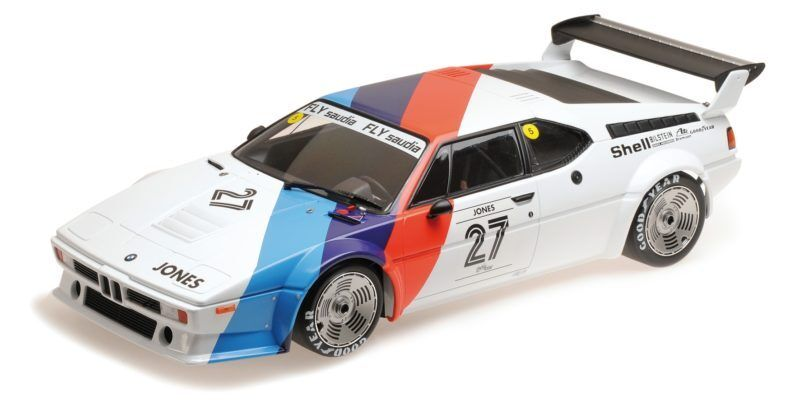 Bmw M1 Procar Bmw Motorsport Alan Jones Procar Series 1979 1:12 Model MINICHAMPS