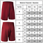 Men-Casual-Shorts-Gym-Baggy-Sportswear-Pants-Running-Basketball-Bottoms-Trousers thumbnail 3