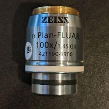 Zeiss Alpha Plan Fluar 100x145 Oil M27 Objective Cn 421190 9900