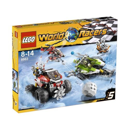 LEGO ® World Racers 8863 tormenta in Antartide NUOVO OVP