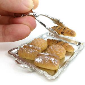 8Pcs-1-12-Dollhouse-Miniature-Accessories-Silver-Tray-Silver-Clip-6-Bre-alJC