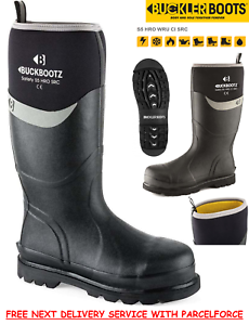 Rhinoboots Neoprene S5 Safety Wellington Work Boots Wellies Next Day Delivery