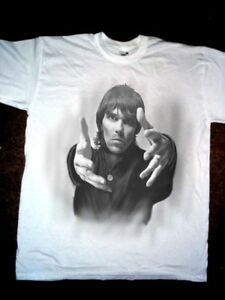 Airbrushed portrait of Ian Brown T-shirt in any Size