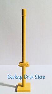 LEGO 4318 Black Boat Mast 2 x 2 x 9 23 Bar Slot on Top 2 Finger Hinge Two Sides