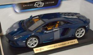 Maisto-1-18-Lamborghini-Aventador-LP700-4-Edicion-Especial-Azul-Oscuro-46629