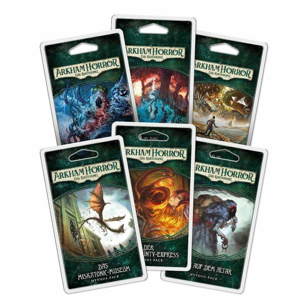 Arkham Horror  Kartenspiel LCG - Bundle kompletter Dunwich Zyklus   DEUTSCH