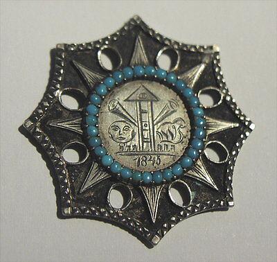 Rares Altes Offiziergeschenk Orden Silber Von 1843 Deutschland Oder Österreich Eine Lange Historische Stellung Haben