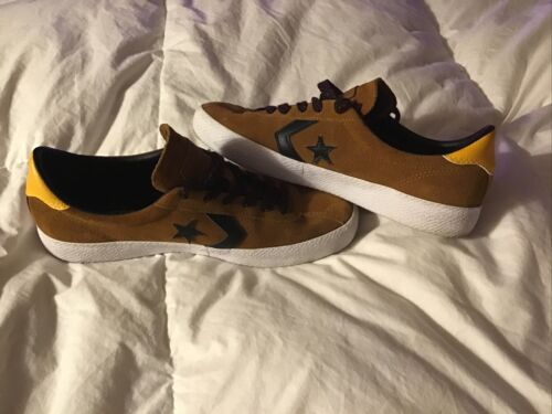 Converse Cons Men's Size 6 1/2 Shoes Brown Yellow