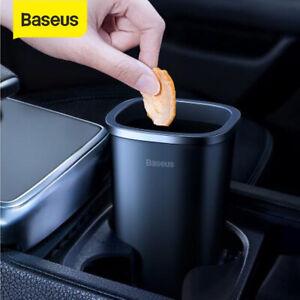 Baseus-Auto-Abfalleimer-Mini-Papierkorb-Muelleimer-Aschenbecher-Tischmuelleimer