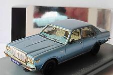 DATSUN 200L LAUREL C230 METAL LIGHT BLUE NEO 44496 1/43 LHD LEFT HAND DRIVE BLEU