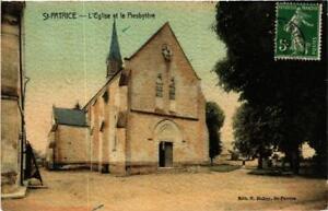 CPA-St-Patrice-L-039-Eglise-et-le-Presbytere-611934
