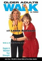 Older Adults Walk & Firm - With Leslie Sansone (dvd, Brand