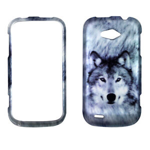 Siberian Husky Wolf Case For Zte Savvy Z750c Phone Cover Kj Ebay