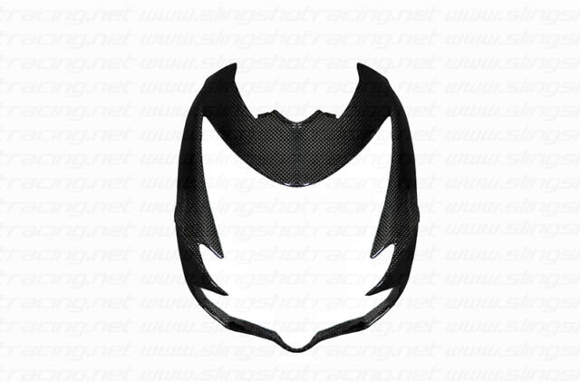 Ducati Streetfighter / 848 Headlight Front Fairing Cowl Cover Carbon Fiber Fibre