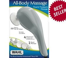 Wahl Therapeutic Personal Full Body Massager Handheld Vibrator Sore Muscle Relax