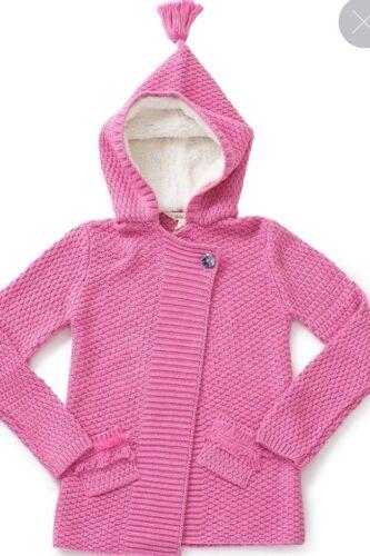 Matilda Jane Girls Size 8 Make Believe Autumn Sunset Sweater NWT In Bag Pink