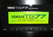 NEW LCD Yellow/Green display for Yamaha TG77 Synth Fix Replacement Repair