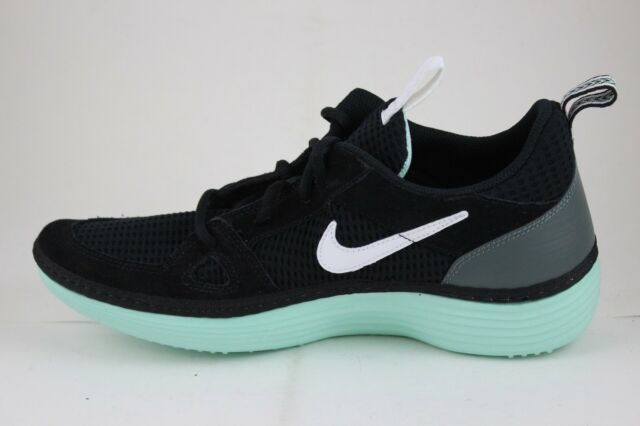 007b48c68cba NEW NIKE SOLARSOFT RUNNING WALKING CASUAL SHOES SNEAKERS BLACK SIZE 13