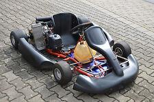 Fahrbereits Birel Kart mit Rotax Max Elektrostarter 50 er Achse Rennkart