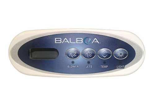 Spa hot tub Balboa WG® VL200 Mini panel oval topside control keypad part# 53676