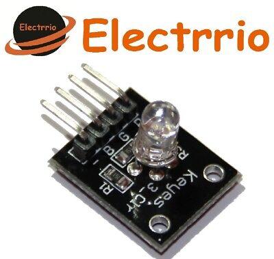 Arduino,Electronica Kit 10 Diodos LED RGB de 5mm catodo comun
