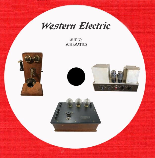 Western Electric Audio Repair Service Schematics On 1 Dvd In Pdf Format