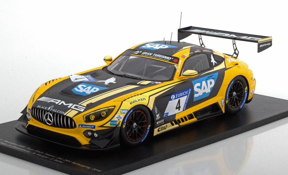 Spark Mercedes Benz AMG Gt3 24h Nurburgring 2018  4 1 18 Echelle le de 300