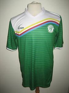 Comores-home-rare-Africa-CAF-football-shirt-soccer-jersey-trikot-maillot-size-L
