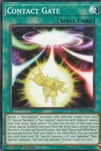 YUGIOH-CARD-2-X-CONTACT-GATE-CYHO-EN000-1ST-EDITION
