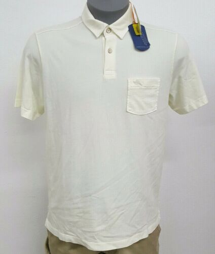 Tommy Bahama Reef Coconut White S//S Men/'s Polo Shirt NWT $88 Choose Size