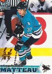 1998-99-Pacific-Paramount-Hockey-Holo-Electric-212-Stephane-Matteau-83-99-Shark