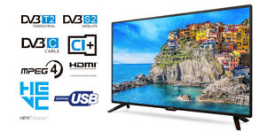 "TV LED 24"" HD READY T2/S2 HDMI VGA/PC USB"