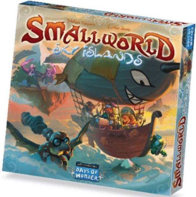 Small World Jeu de Société - Sky Islands Expansion