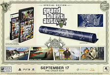 Grand Theft Auto V 5 Special Edition PS3 PAL AUS EDITION *BRAND NEW* + Warranty!