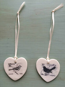 Vintage-Inspired-Handcrafted-Ceramic-Bird-Hanging-Hearts-by-Amanda-Mercer